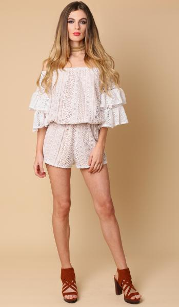 june lace frill top -2