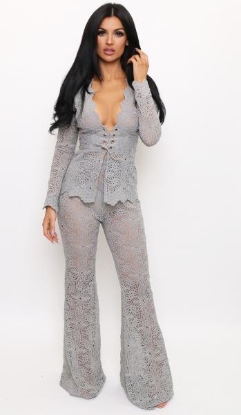 grey suit flares 6